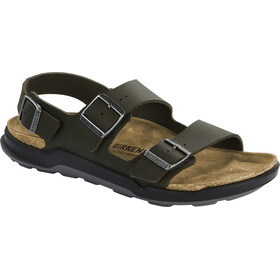 Birkenstock Milano Sandals Birko-Flor Regular Men, desert soil khaki